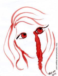mujer menstruante